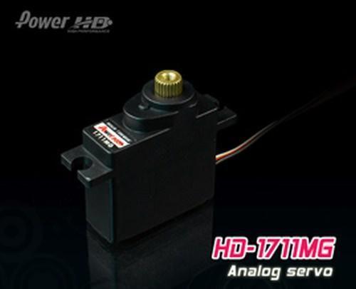 PowerHD HD-1711MG Mini Metallgetriebe Servo 17,5g 3.5kg 0,11sec 4,8V-6V Tiny-MG