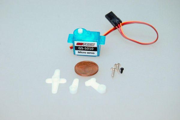 5g Micro Servo 1,0kg/cm 0,1sec 4,8V-6V GS-5010 für Parkflyer