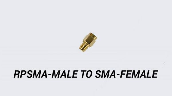 TBS RPSMA Male auf SMA Female Adapter für 5,8 Ghz FPV Antennen