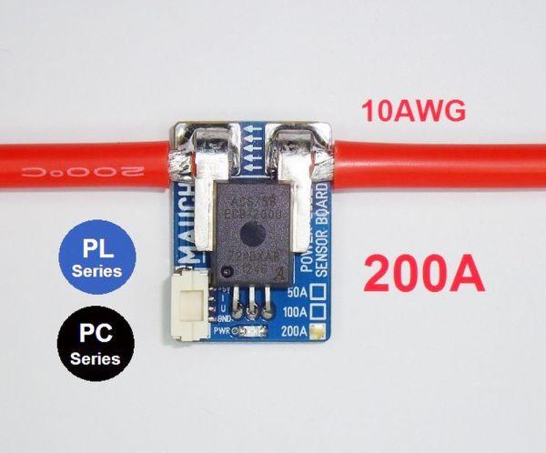 Mauch 003 - PL-200 Sensor Board 2x 10cm 10AWG mit CFK Abdeckung