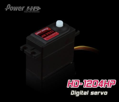PowerHD HD-1204HP Digital Servo 50g 5kg 0,05sec 4,8V-6V Heli Heckservo