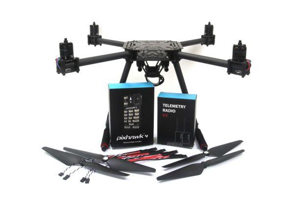 Holybro X500 (433Mhz) Set Quadcopter mit Pixhawk 4 Set