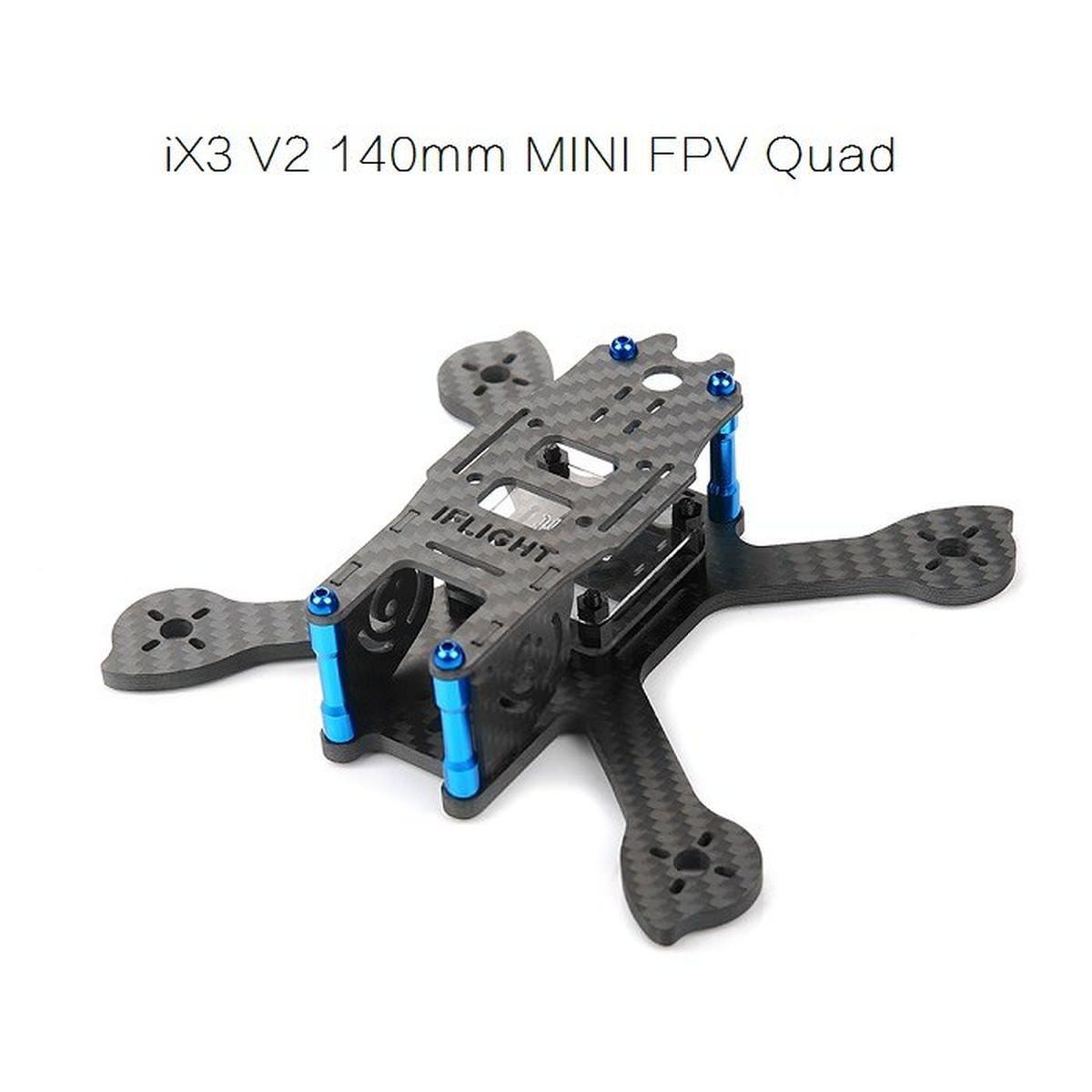 iFlight-RC Racer iX3 V2 140mm Carbon Mini FPV Race Frame