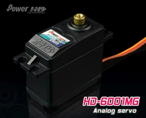 PowerHD HD-6001MG Metallgetriebe Servo 56g 7.0kg 0,14sec 4,8V-6V BB