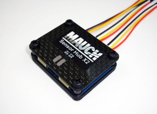 Mauch 010 - PL - Sensor Hub X2 V2 mit CFK Abdeckung