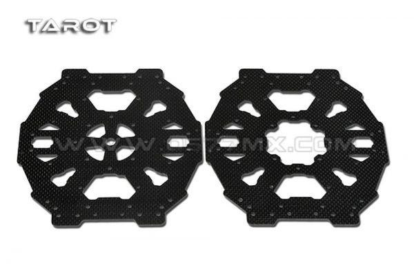 Tarot TL65B04 Carbon Centerplates oben + unten für Tarot FY650