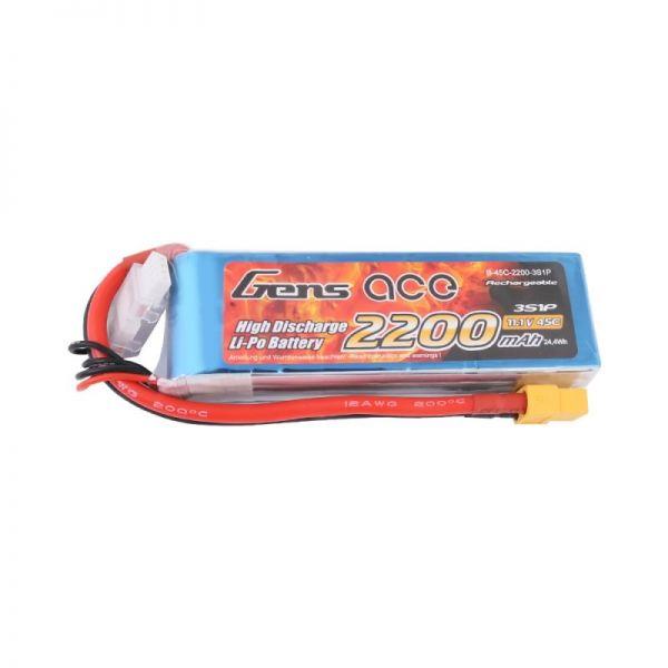 Gens Ace LiPo Akku 3S 2200mAh 11,1V 45C XT60