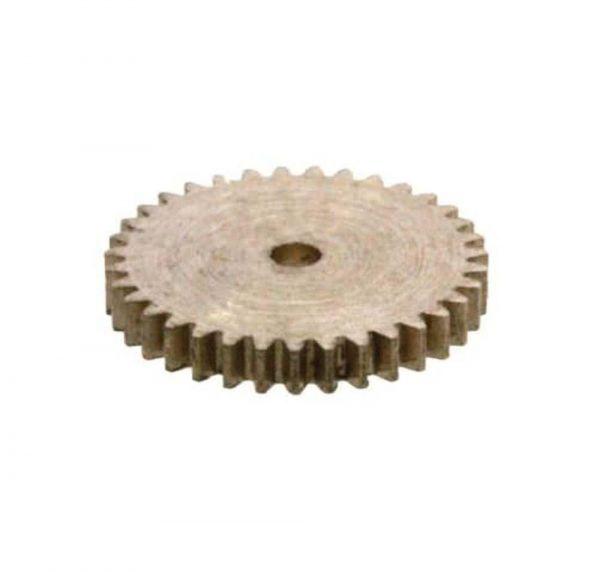 Zahnrad 35 Zähne Modul 0.2 1mm Bohrung Messing M0.2 Z351