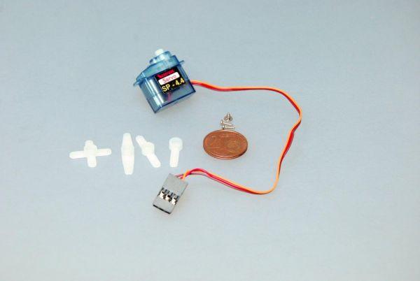 4,4g Micro Servo 0,8kg/cm 0,1sec für Indoor und Parkflyer