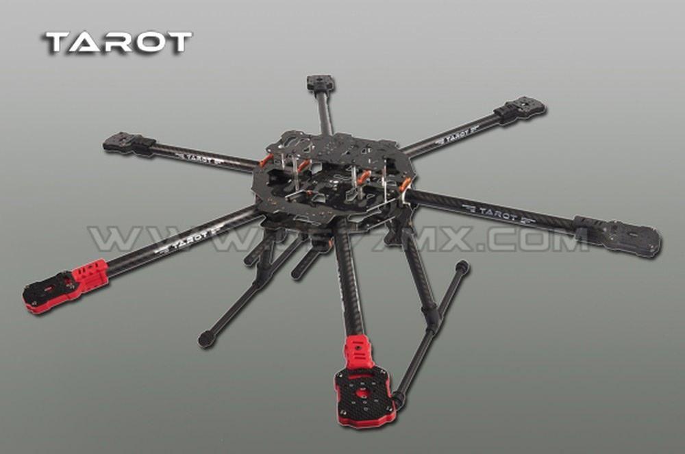 Tarot Iron Man FY690S klappbarer Carbon Hexacopter Rahmen Durchm ...