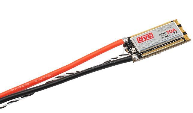 DYS ARIA Multicopter Brushless ESC 70A 3S-6S 9,5g DShot BLHeli 32bit
