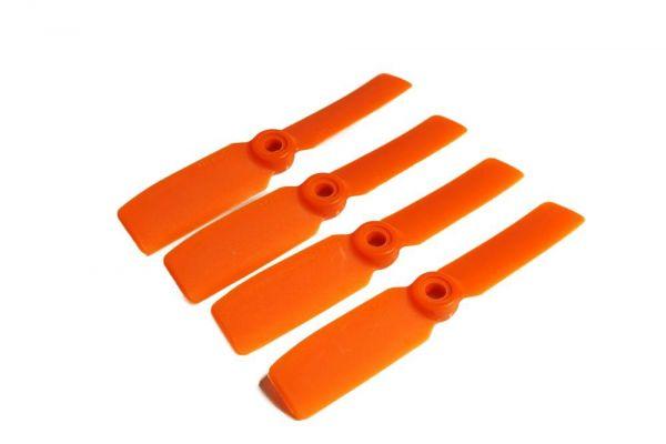 3.5x4.5 Gemfan 4x Propeller Rechts Orange Nylon GF Bullnose Luftschraube 3545