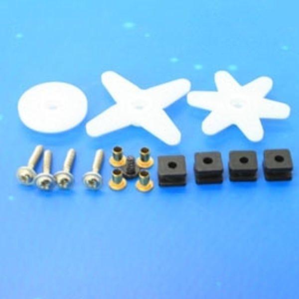 Ersatz Ruderhörner und Schrauben für Emax ES3001 Servo