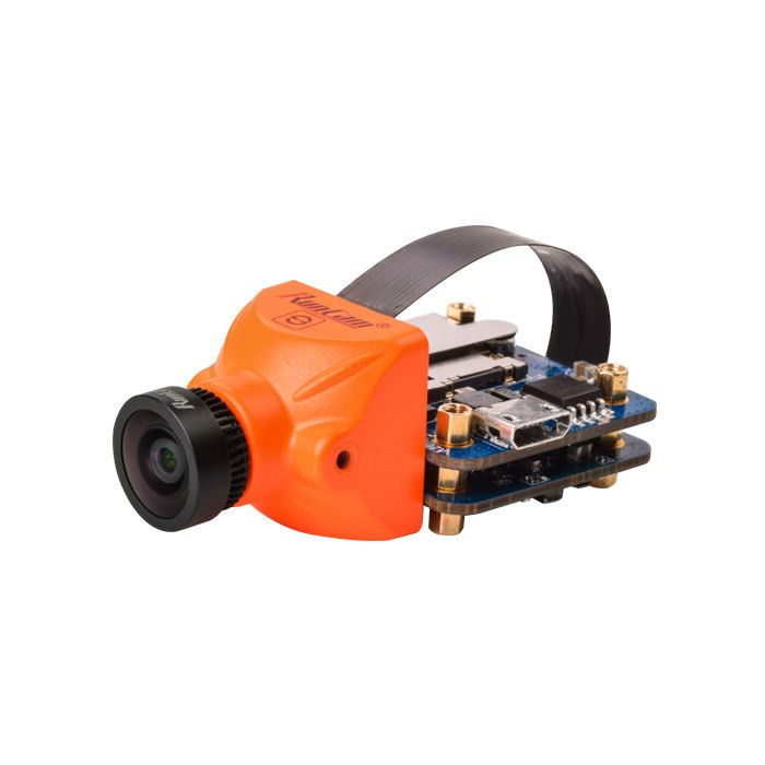 RunCam Split Mini HD 1080p und FPV Kamera FOV 165° mit WLAN in Orange