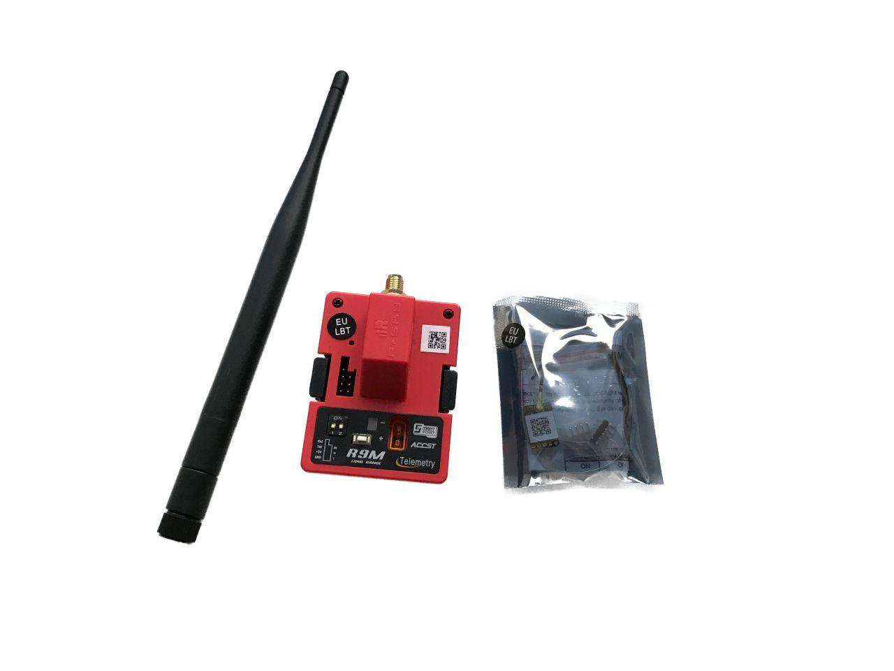 FrSky R9M EU HF Sendemodul JR + R9MM Minus Empfänger 868MHz Long Range