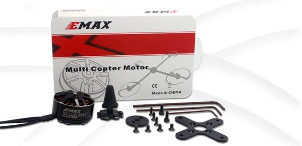 Emax MT3110 Brushless Motor 700kv 3S-4S 78g f. Multicopter CCW Version