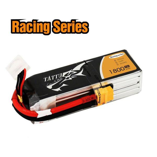 Gens Ace TATTU LiPo Akku Pack 4S 1800mAh 14,8V 75C 150C FPV Racing Series