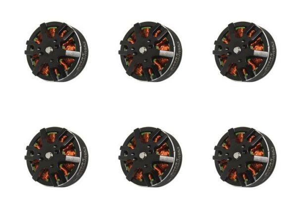 6x Emax MT3510 V2 Brushless Motor 600kv 3S-4S 11,1V-14,8V 102g Hexacopter Set