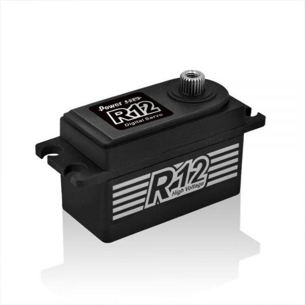 PowerHD R12 Digital HV Servo 12kg 0,06sec 41g 6V-7,4V BB