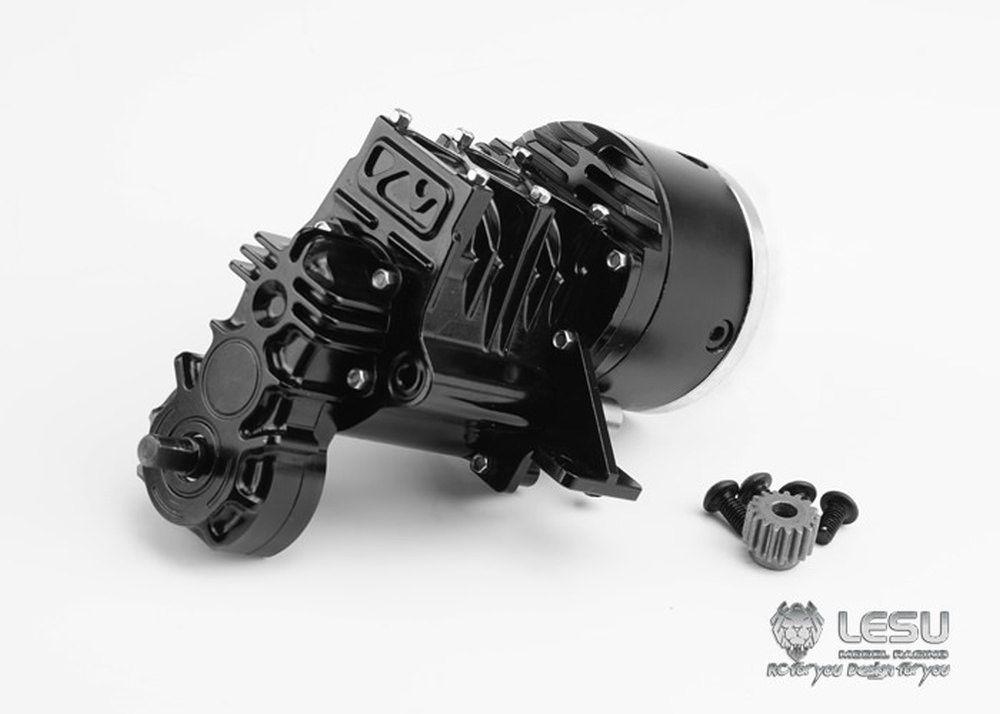 Lesu 2-Gang Getriebe inkl. Verteiler Allrad F-5016-B für 1:14 Tamiya