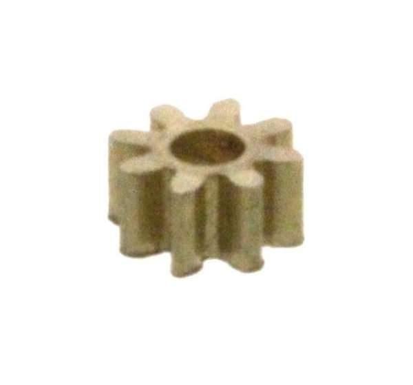 Zahnrad 10 Zähne Modul 0.2 1mm Bohrung Messing M0.2 Z101