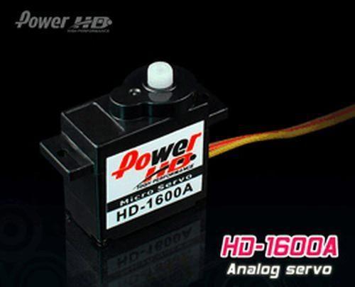 PowerHD HD-1600A Micro Analog Servo 6g 1.3kg 0,10sec 4,8V-6V