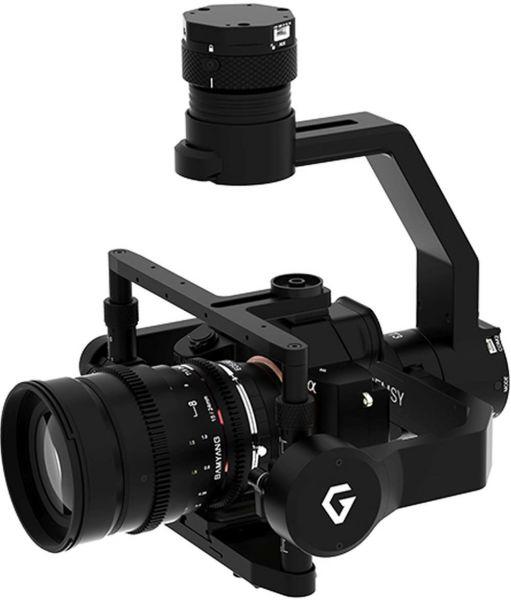 Gremsy T3 Gimbal für eine Vielzahl von DSLR Kameras bis zu 1,7kg