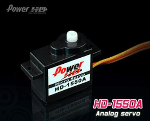 PowerHD HD-1550A Micro Analog Servo 5,5g 1.1kg 0,10sec 4,8V-6V