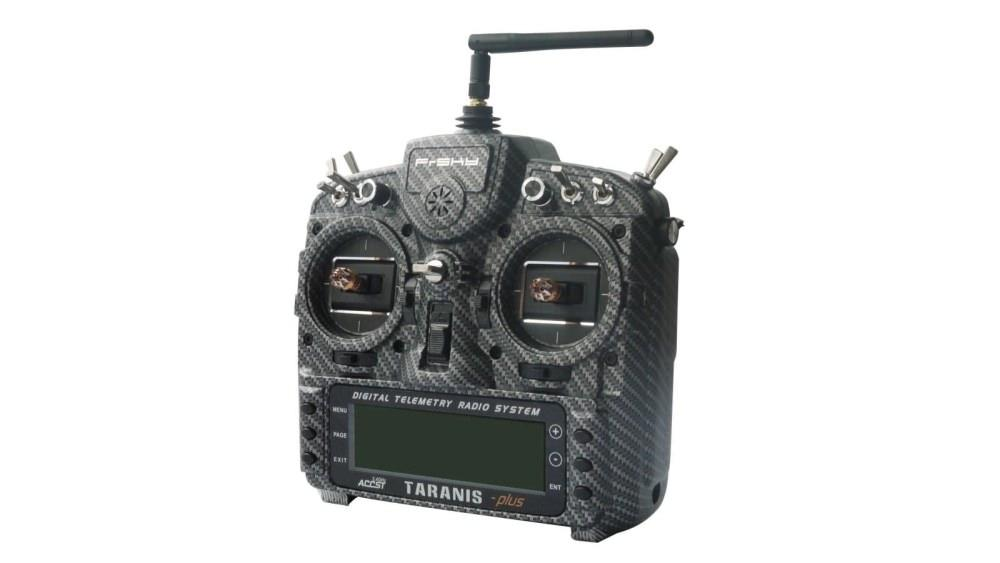 FrSky Taranis X9D+ Special Edition 2019 ACCESS in der Farbe Carbon Fiber