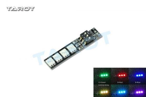 Tarot TL2816-05 LED RGB Leiste mit 7 einstellbaren Farben 4S für FPV