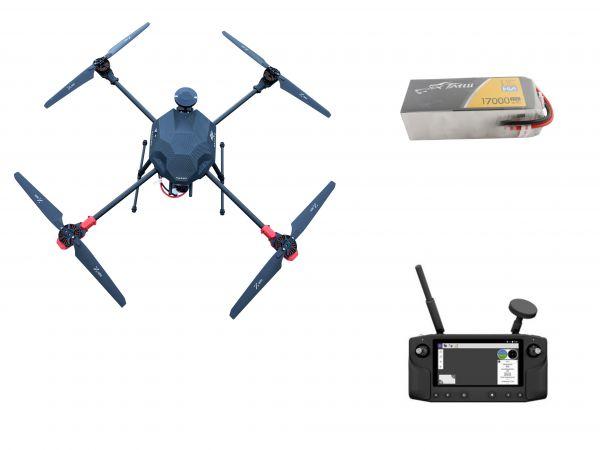 PM Q800 klappbarer Carbon Quadcopter Rahmen - RTF Komplettset