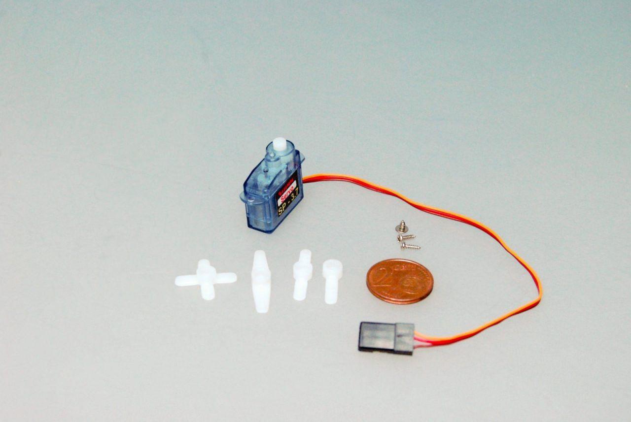 3,7g Micro Servo 0,7kg/cm 0,1sec für Indoor und Parkflyer