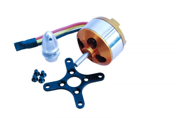 A2810/9 Brushless Außenläufer Motor 1350kv 2S-3S 7,4-11,8V 3530 A2810