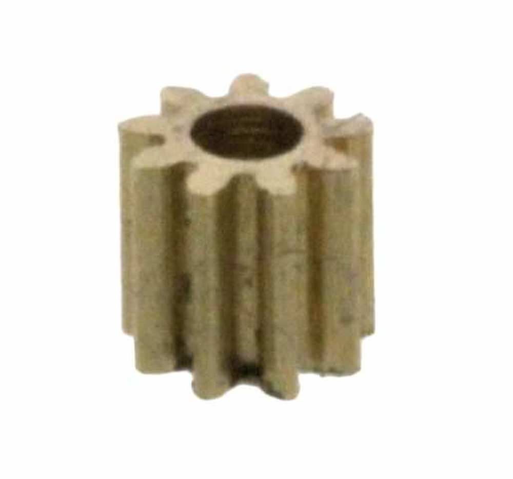 Zahnrad 9 Zähne Modul M0.2 1mm Bohrung Messing Z91