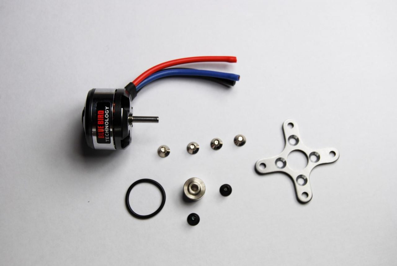 Blue Bird Brushless Motor 45g 950kv 27,5x26 Außenläufer BLM8