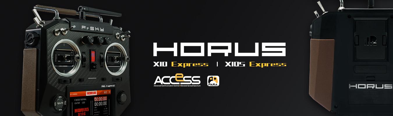 Horus X10 und X10S Express