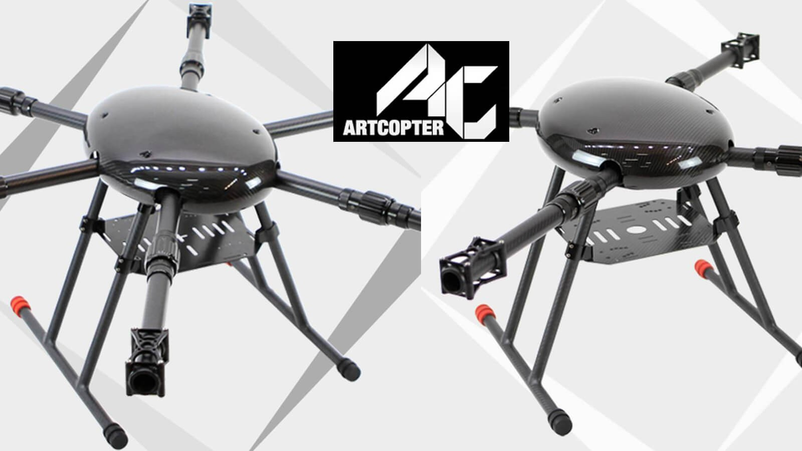 Artcopter Quadcopter und Hexacopter Frames