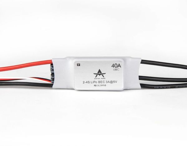 T-Motor AT 40A ESC - Fixed Wing Brushless Regler 40A 2S-4S 5V 3A UBEC