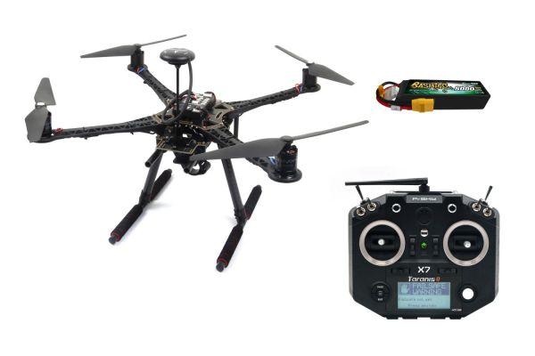 Holybro S500 V2 Quadcopter RTF Set mit Pixhawk 4 + Frsky Q X7