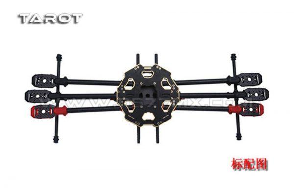 Tarot Iron Man 680PRO klappbarer Carbon Hexacopter Rahmen Durchm. 695mm TL68P00