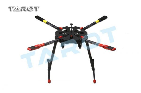 Tarot X4 klappbarer Carbon Quadcopter Rahmen - elektrisches Landegestell TL4X001