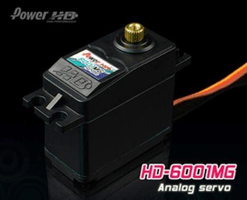PowerHD HD-6001MG Metallgetriebe Servo 56g 7.0kg 0,14sec 4,8V-6V BB