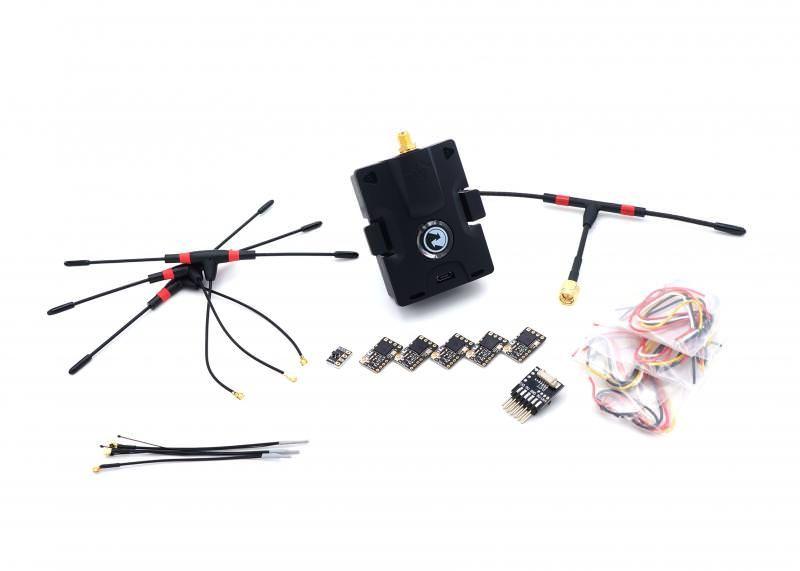 TBS CROSSFIRE Micro Starter Set - Sendemodul + 5x Nano Empfänger