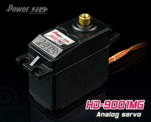 PowerHD HD-9001MG Metallgetriebe Servo 56g 9.8kg 0,14sec 4,8V-6V BB