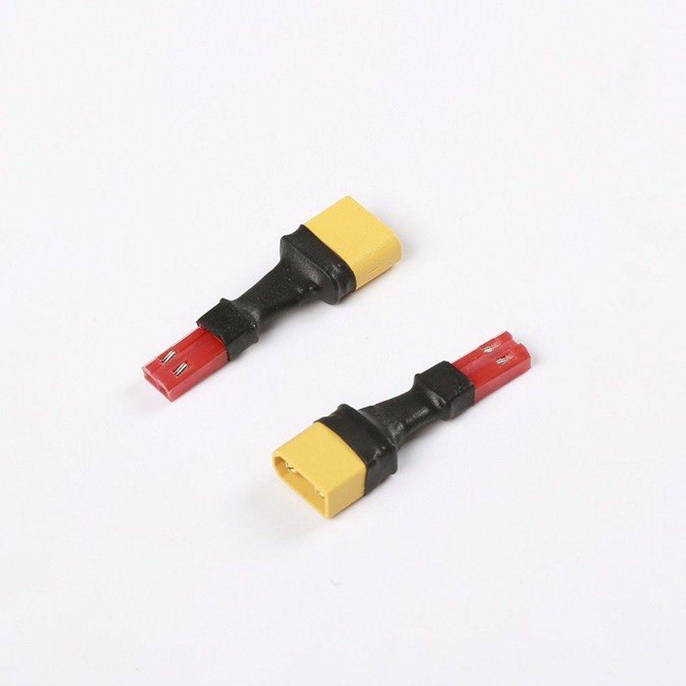 2x Adapter XT30U Stecker auf JST Buchse - Lipo XT30