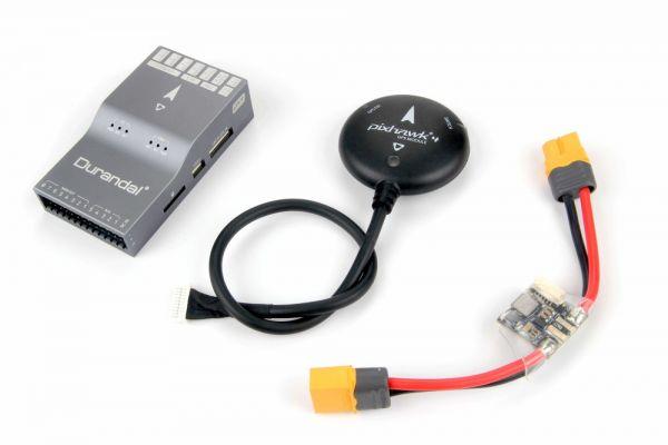 Holybro Durandal PX4 FC mit Ublox NEO-M8N GPS und PM02 Modul