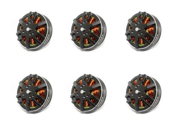 6x Emax MT3506 V2 Brushless Motor 650kv 3S-5S 11,1V-18,5V 67g Hexacopter Set