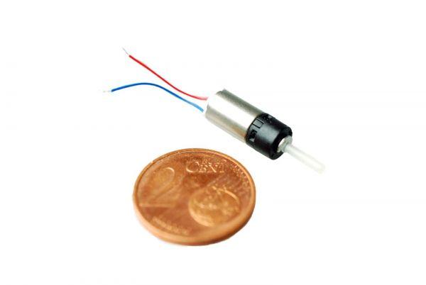 6mm Micro Planeten-Getriebe 0,2-5V 1:5 5000 U/min 5 gcm 1,8g Getriebemotor