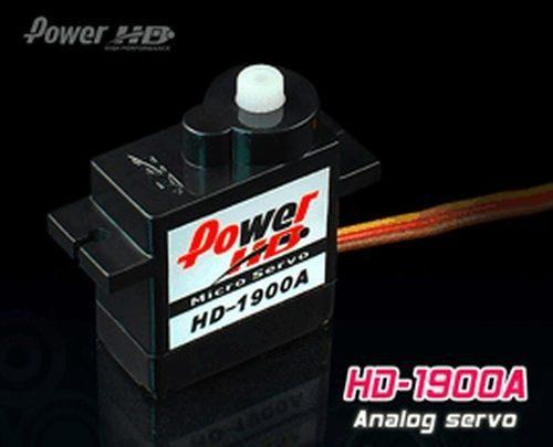 PowerHD HD-1900A Micro Analog Servo 9g 1.5kg 0,08sec 4,8V-6V