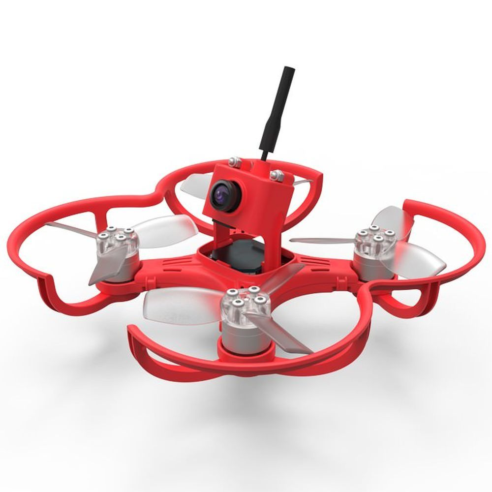 Emax Babyhawk 85mm ARF FPV 2S Race Quad RS1104 6A Bullet in Rot